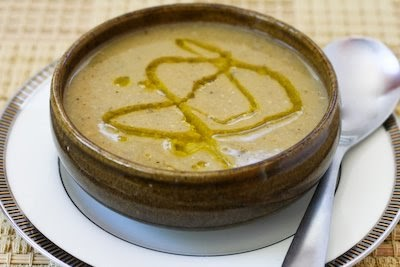 ... Revithia - Greek Chickpea (Garbanzo Bean) Soup with Lemon and Olive