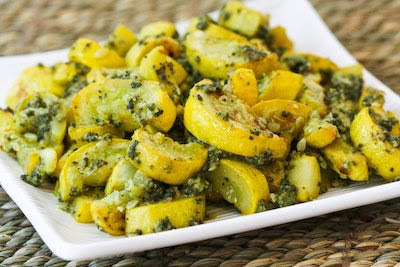 Roasted Yellow Summer Squash