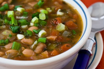 Spicy Pinto Bean Soup