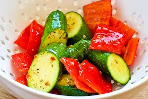 ... ®: Recipe for World's Easiest Grilled Zucchini and Sausage Kabobs