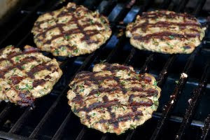 Kalyn's Kitchen®: Grilled Middle Eastern Turkey Burgers Recipe with ...