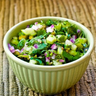 Kalyn's Kitchen®: Recipe for Tomatillo Salsa with Roasted ...