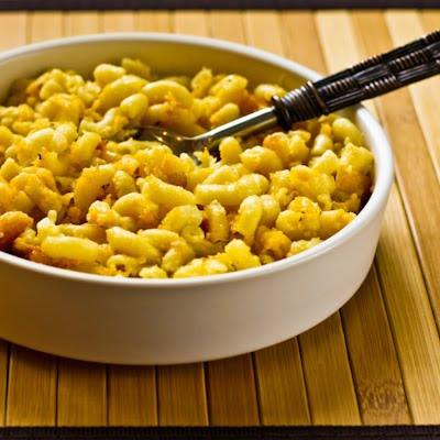 Low Carb Macaroni and Cheese (with a grown-up twist)