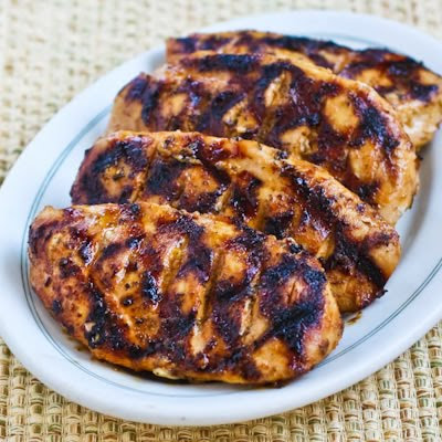 Savory Marinated Grilled Chicken