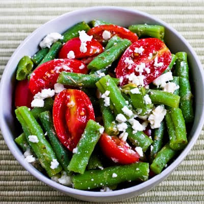 Farmer Dave's | Green Bean, Tomato, and Feta Salad Oreganato