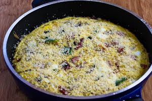 Kalyn's Kitchen®: Recipe for Frittata with Zucchini, Sun ...