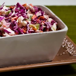 Spicy Mexican Slaw with Lime and Cilantro that was originally found in ...