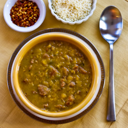 Yellow Split Pea And Sausage Soup Recipes — Dishmaps