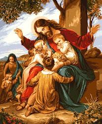 """"""" Lasati copiii sa vina la Mine, ca a unora ca acestia este Imparatia cerurilor, ( Matei 19,14)"""