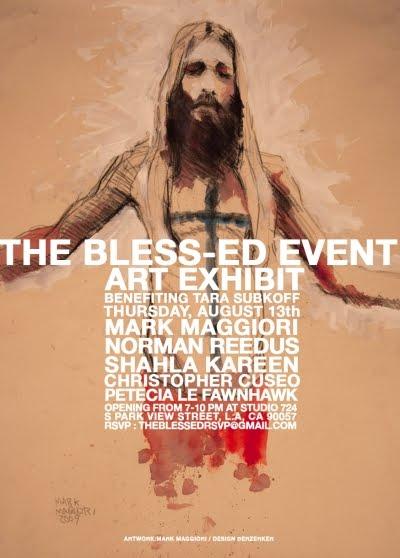 THE BLESS-ED by MARK MAGGIORI