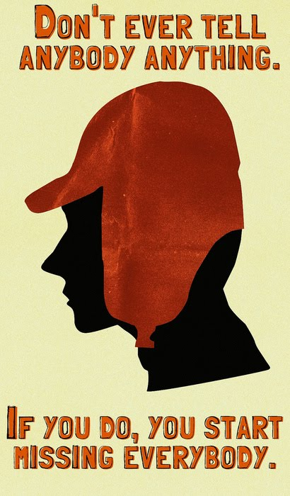 the difficult life of holden caulfield in the catcher in the rye by jdsalinger