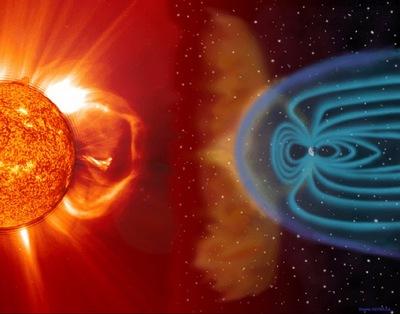 Japón Terremoto (7-Abril-2011) --> Pulso de Luz Azul en el Cielo (¿Arma Climatica?) - Página 2 El+sol+y+la+Tierra