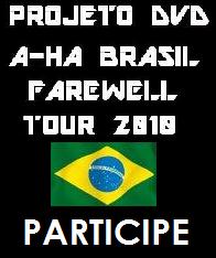 DVD A-ha Brasil Farewell Tour 2010 Brazil2010projeto