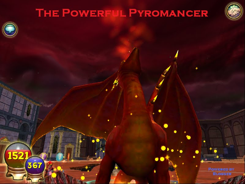 The Powerful Pyromancer