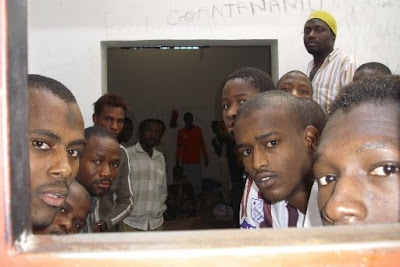 Migranti detenuti in Libia