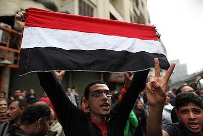 ragazzo a piazza tahrir
