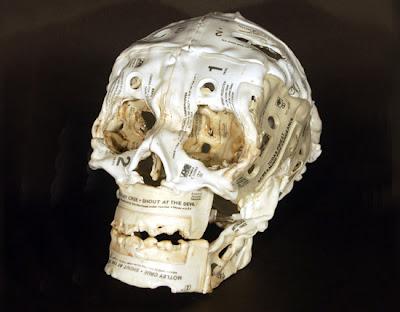 'Skull' by Brian Dettmer
