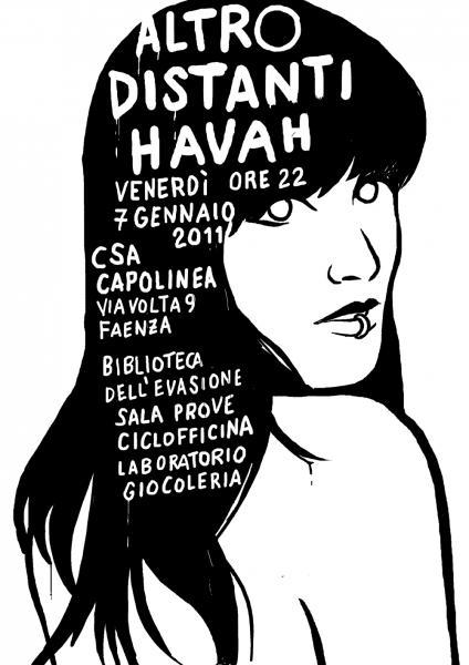 Altro Distanti Havah @ CSA Capolinea - Faenza