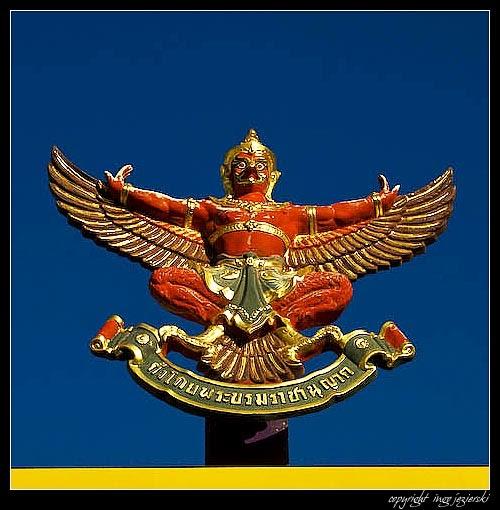 On Pattaya Garuda A National Symbol In Thailand