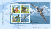 Christmas Frigatebird, as known as Christmas Island Frigatebird, . (cxa)