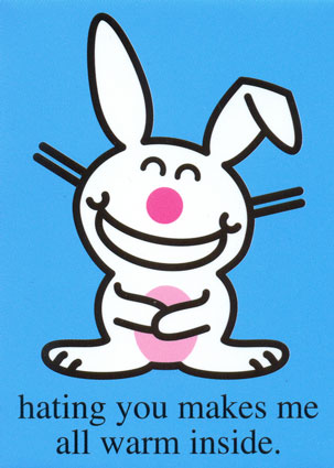 funny quotes happy bunny. hot funny happy bunny quotes.