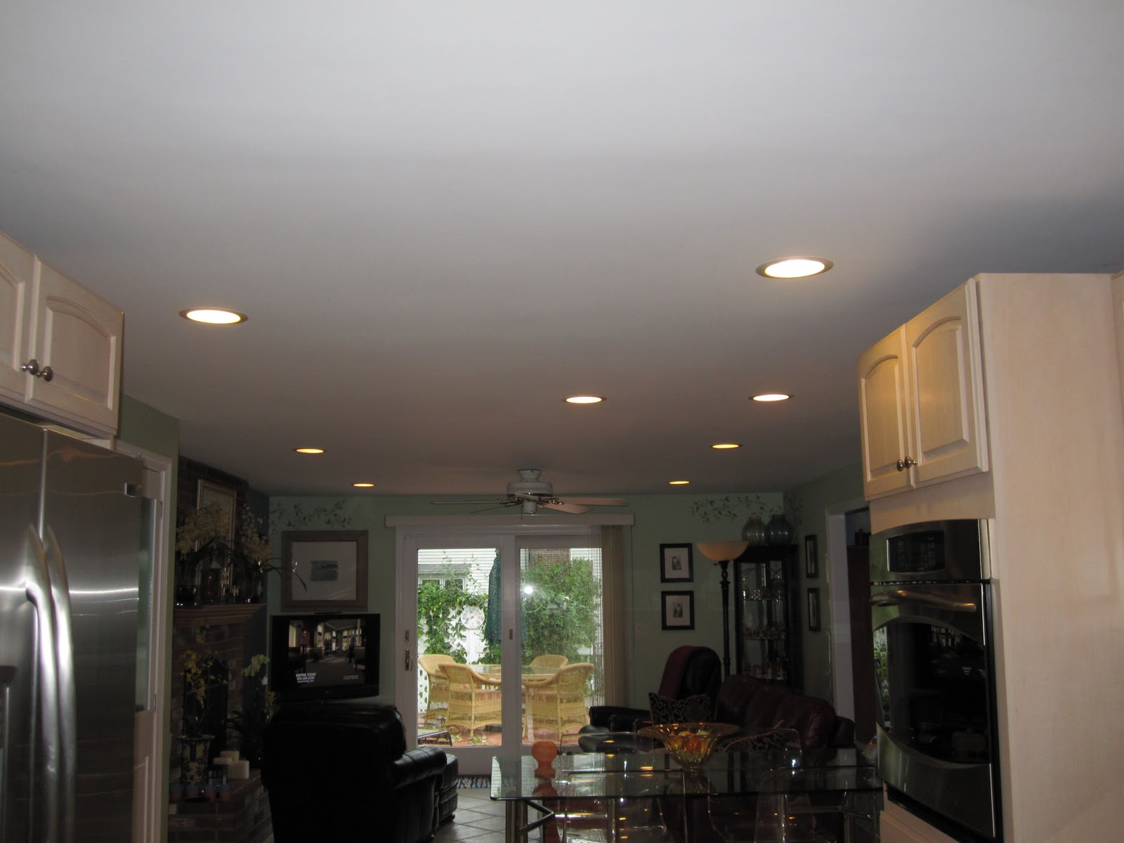 Family Room Recessed Lighting