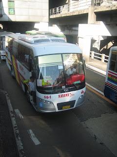 Special bus in Manila