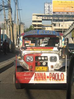 Famous Manila jeepney