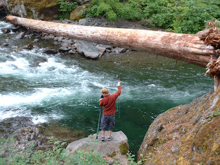 Our journey olympic national park for Sol duc river fishing