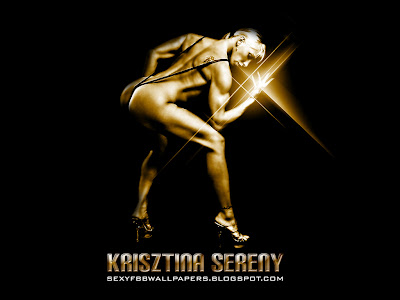 Krisztina Sereny 1024 by 768 wallpaper