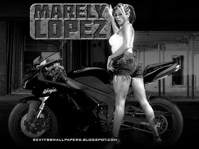 Marely Lopez blackberry curve wallpaper