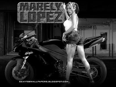 Marely Lopez blackberry curve wallpaper