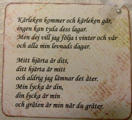 svensk amatörporr kort kjærlighetsdikt til kjæresten