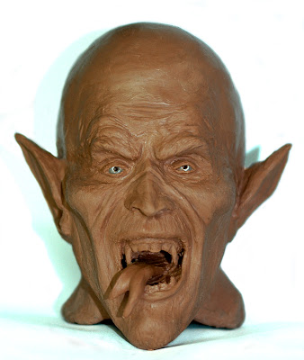 Dracula clay model