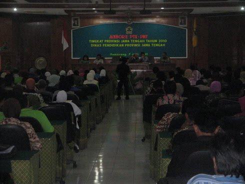 Pembukaan Jambore PTK-PNF Tingkat Propinsi Jawa Tengah Tahun 2010