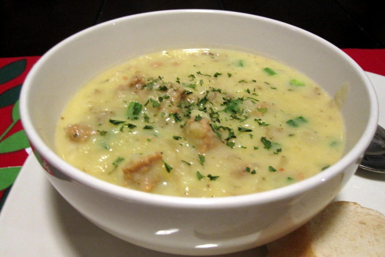 The Shepwell Kitchen: Potato Sausage Soup