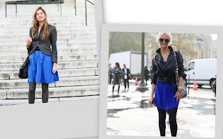 3B de la semana: cuero y faldas