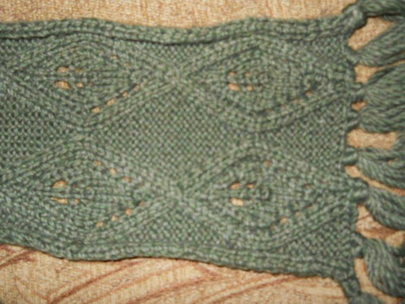Modele de tricotaj manual - Fulare