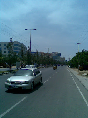 All About Hyderabad: Hitech City, Madhapur Road