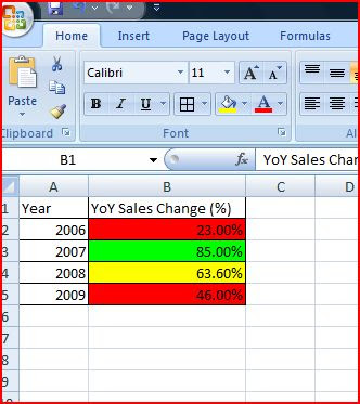 Excel VBA - Format Conditions