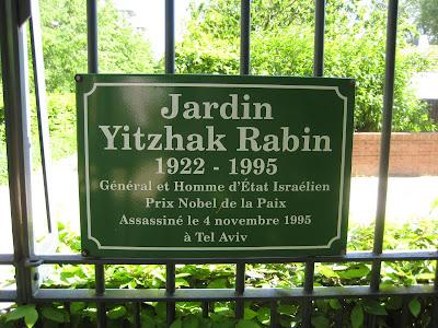 Gus planet parque de bercy for Jardin yitzhak rabin