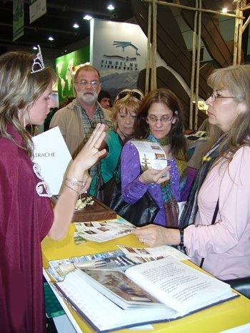 Guatraché, participó de la Expo Patagonia 2008