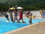 """A 100 m du circuit... Gîte """"3 soleils"""" -8 à 12 pers- avec piscine chauffée à 28° de mai à sept/oct."""