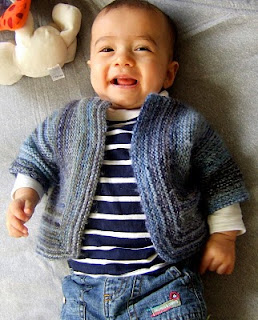 How to Knit an Easy Baby Sweater and More Free Patterns | eHow