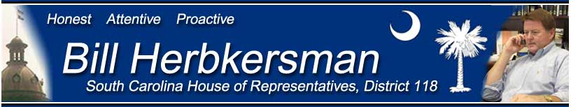 Bill Herbkersman - SC House - District 118