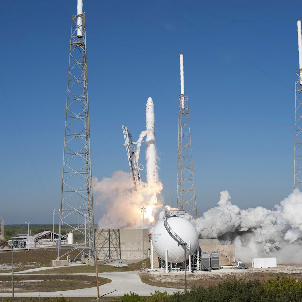 A New Era - SpaceX launches Falcon 9 on demonstration flight!