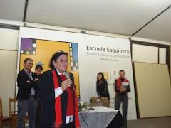 CIERRE A CARGO DE LA DIRECTORA Gral CES INPS. ALEX MAZZEI.3 junio 010, espacio Barradas.