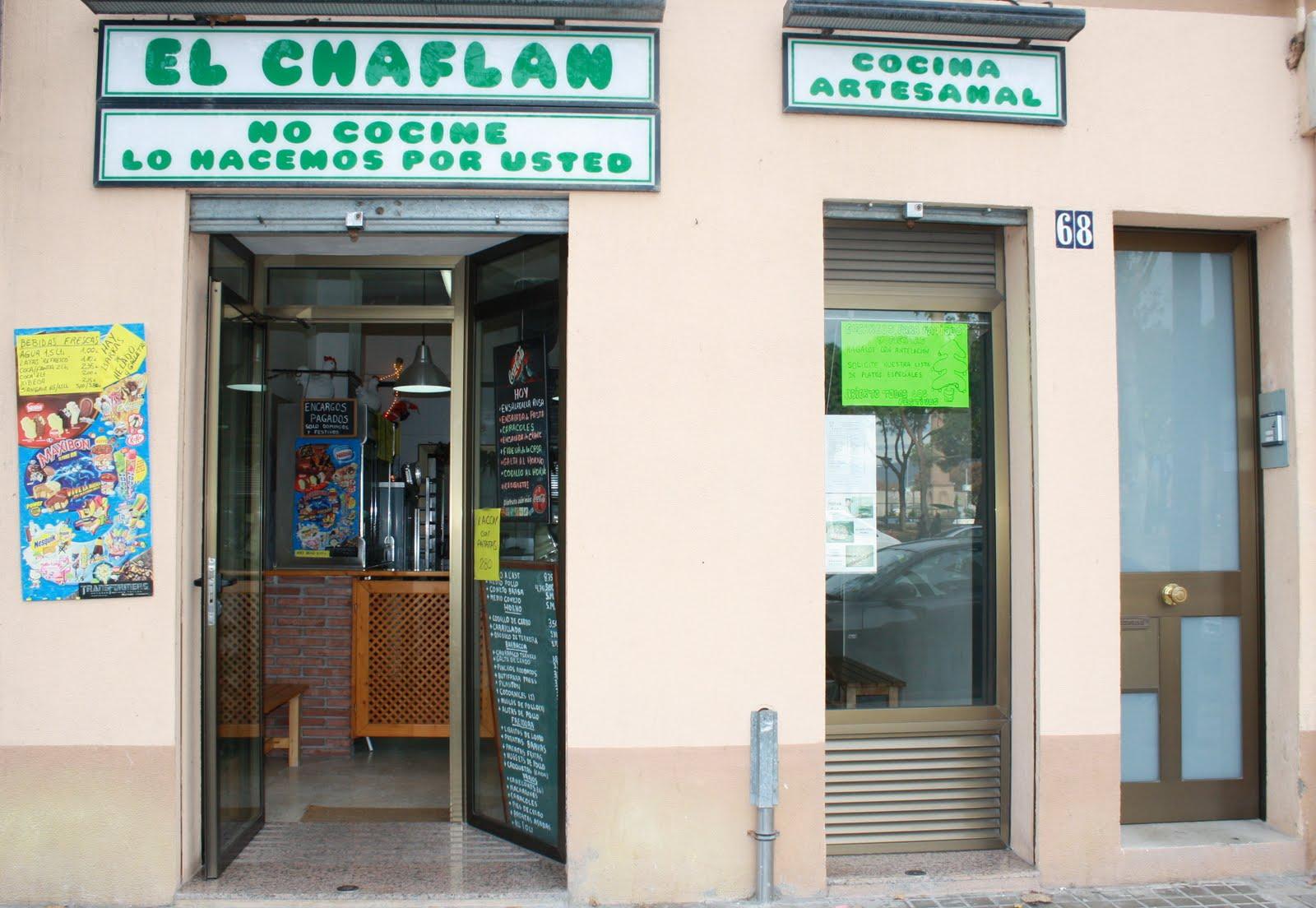 Rostisería El Chaflán de Sant Adrià