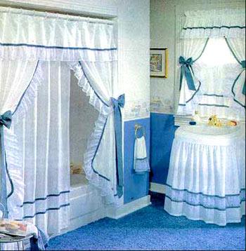Creaciones yanneri for Modelos de cortinas de bano en tela