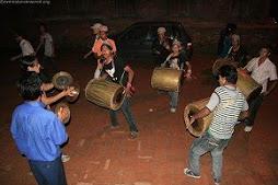Folk band on the streets of Kathmandu
